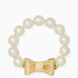 Kate Spade New York All Wrapped Up Bracelet Pearl
